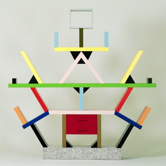 Ettore Sottsass Shelf System